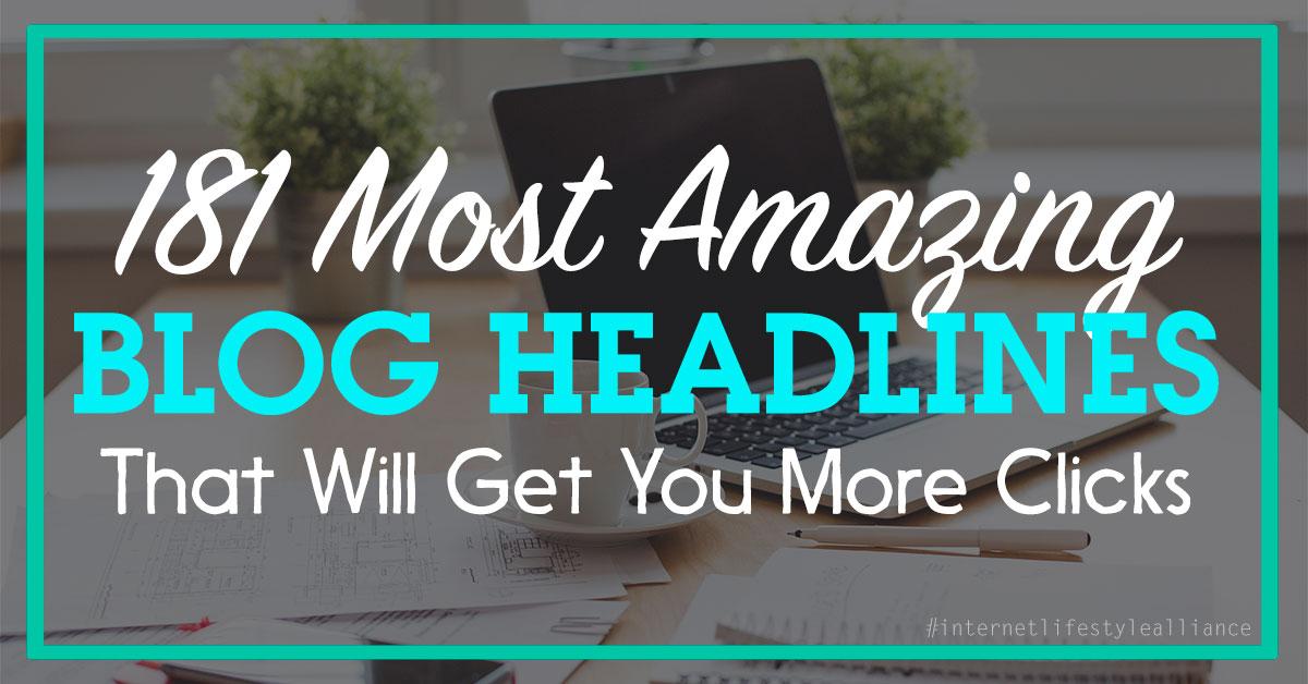 blog headlines