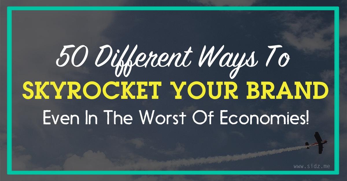 skyrocket your brand