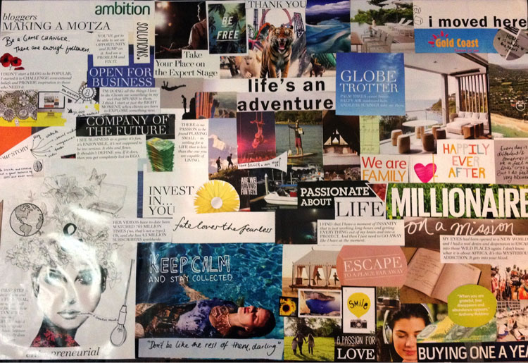 business vision board