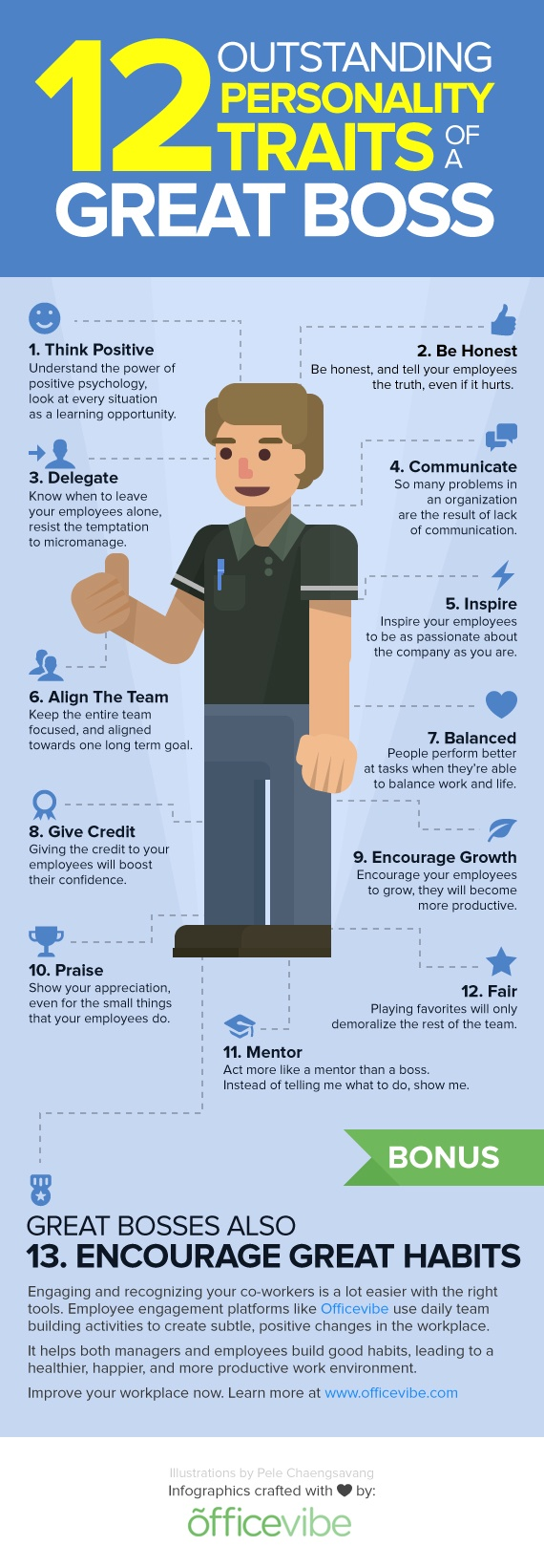traits of a great boss