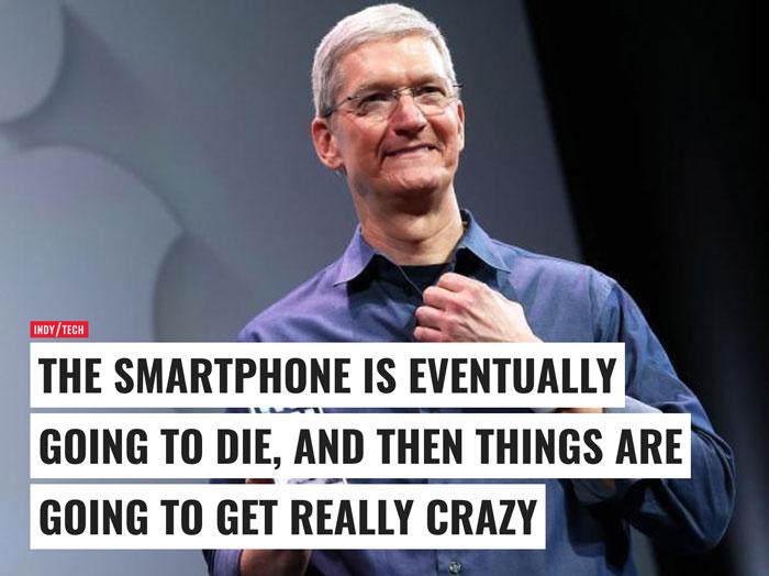 smartphones dying
