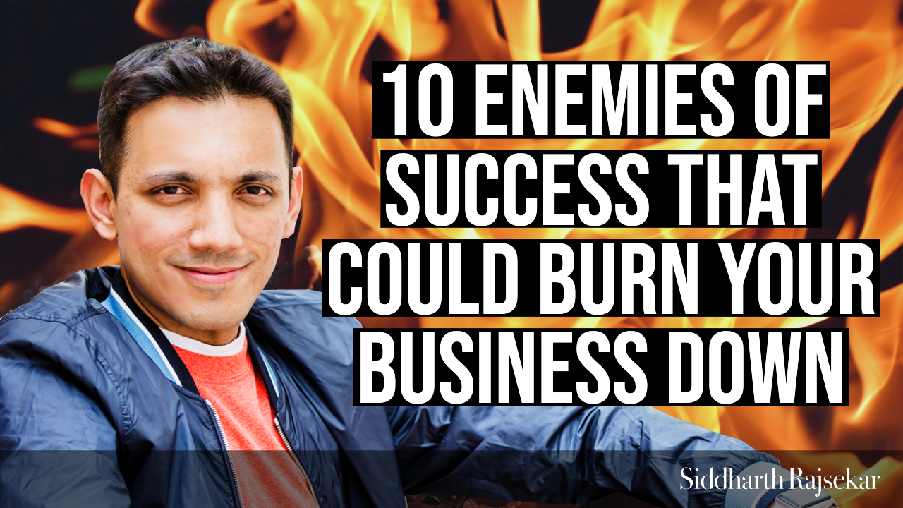 enemies of success