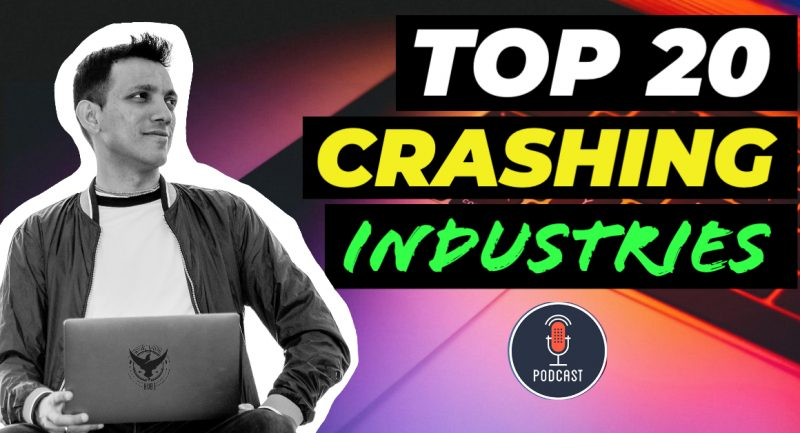 top crashing industries