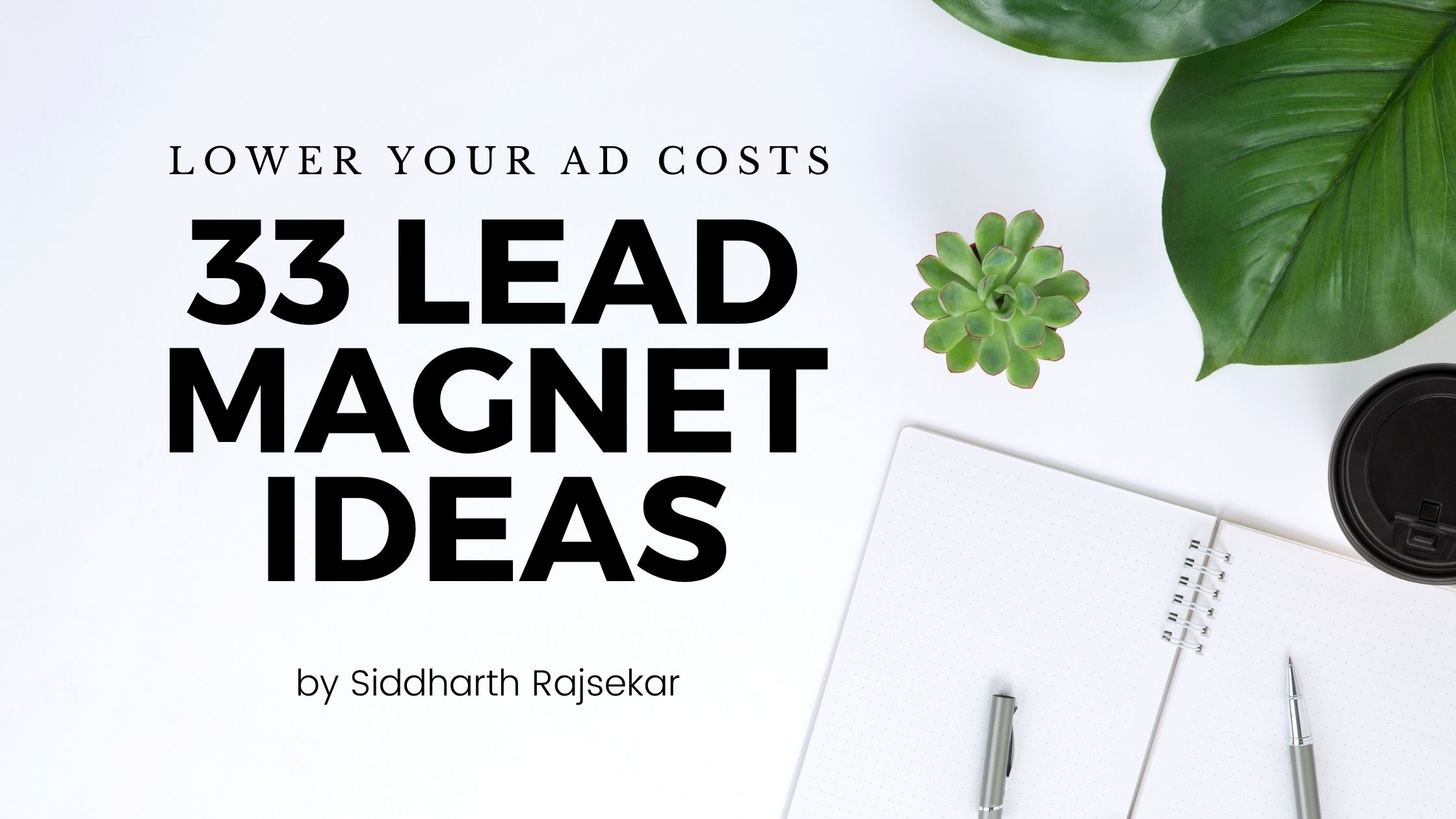 lead magnet ideas