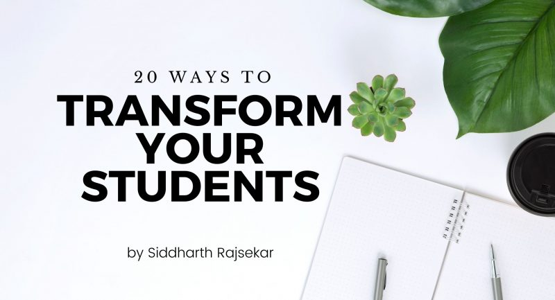 transform your students