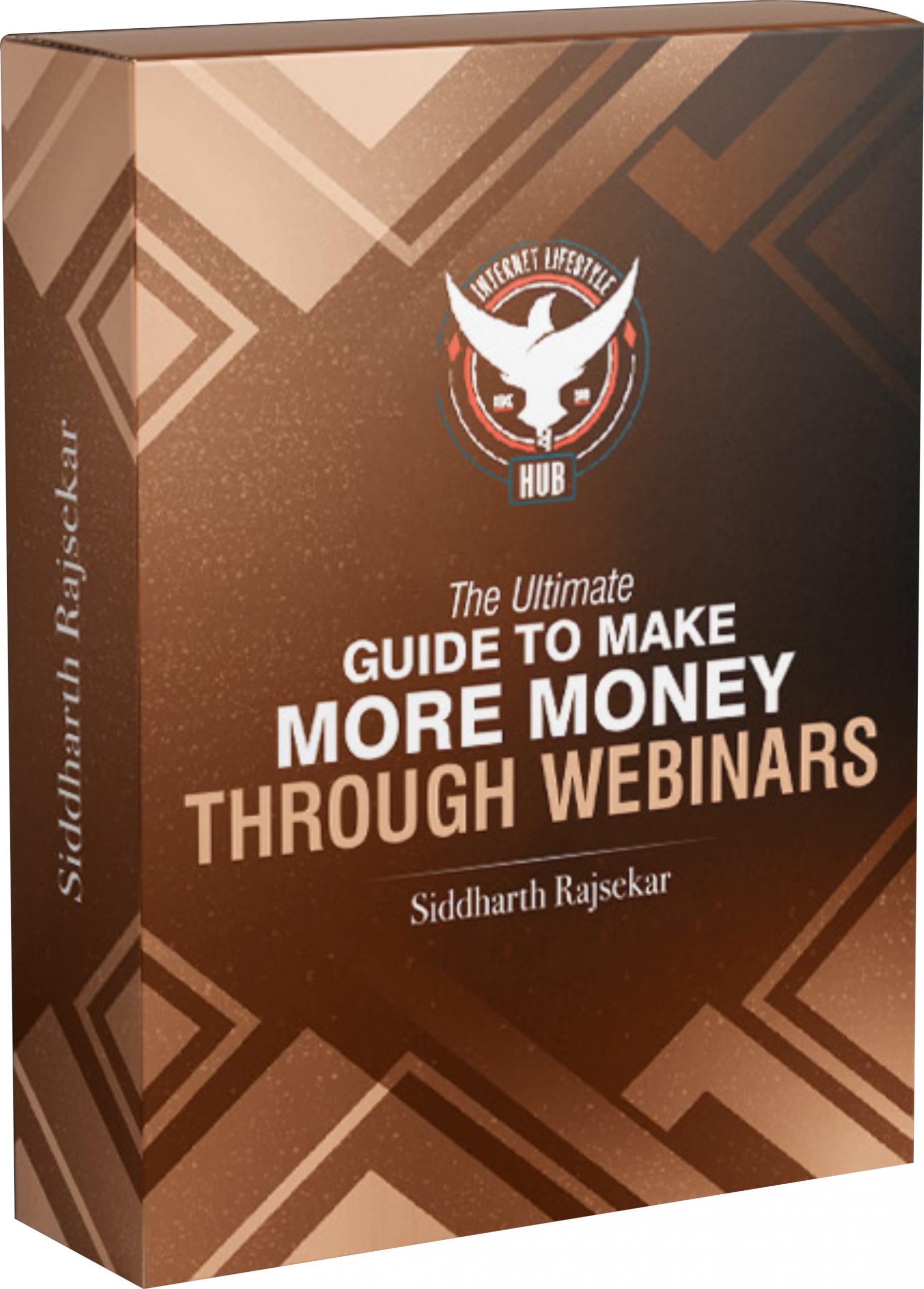 Money Through Webinars